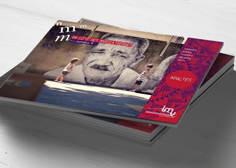 création graphique brochure programme 48 pages / dépliants / affiches