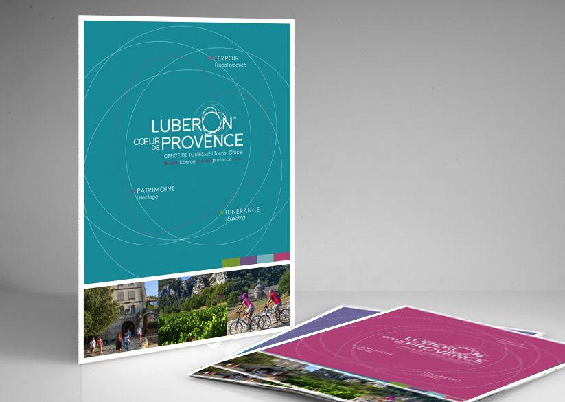OFFICE DE TOURISME CAVAILLON Création du Logo / Papeterie Dépliant / Brochures Affiches / Flyers